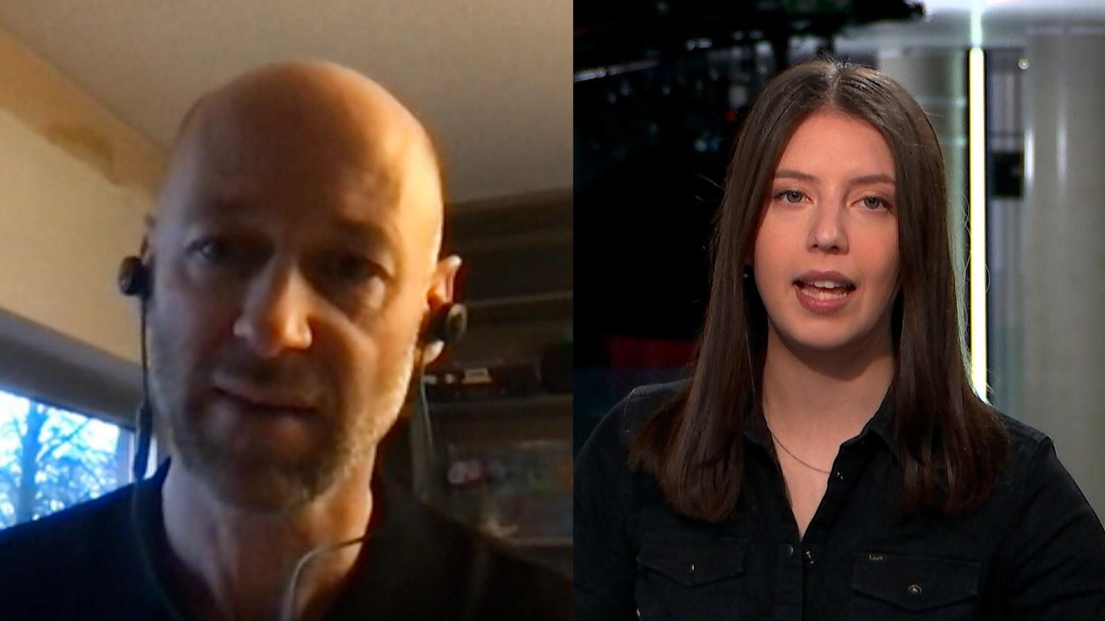 Intensivist Geert Meyfroidt (UZ Leuven) in gesprek met Daimy Van den Eede