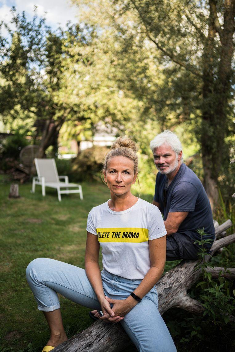 Stany Crets en Ann Van den Broeck. 'De sector is sowieso versnipperd. Dat is de aard van het beestje. Er was inderdaad weinig eenheid. Die komt er nu wel.' Beeld Wouter Van Vooren
