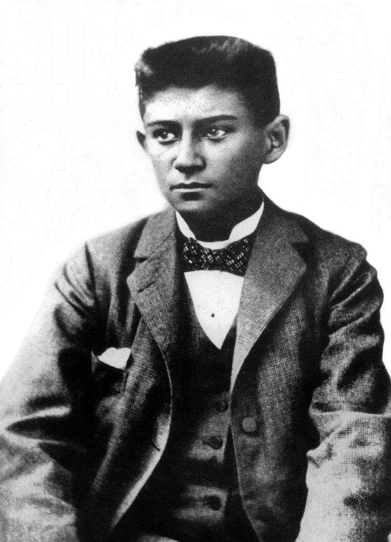 Franz Kafka, circa 15 jaar. Beeld HH