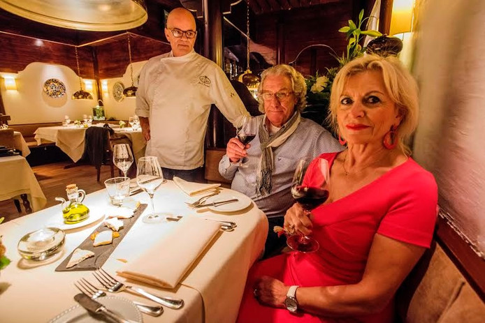 Jan Gravestein, Ueli en Mariette Rohrer