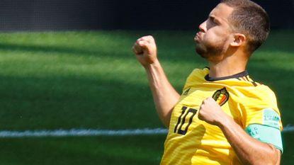 WK LIVE. Eden Hazard schrijft WK-geschiedenis met penaltygoal - Dele Alli traint deels mee bij Engeland
