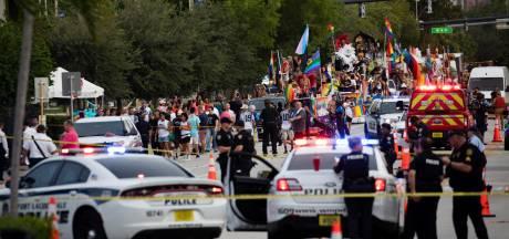 Automobilist rijdt in op toeschouwers Pride-parade Florida: één dode