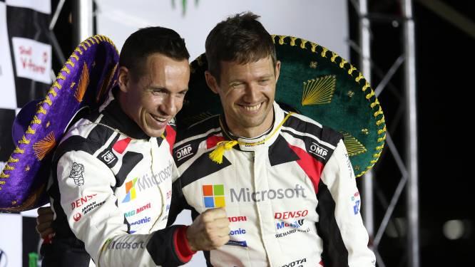 Sébastien Ogier wint ingekorte rally van Mexico en pakt leiding WK, Neuville scoort geen punten
