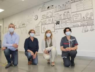 """""""Onze 130 schoonmakers zijn ook zorghelden"""": AZ Alma zorgt voor creatieve verrassing"""
