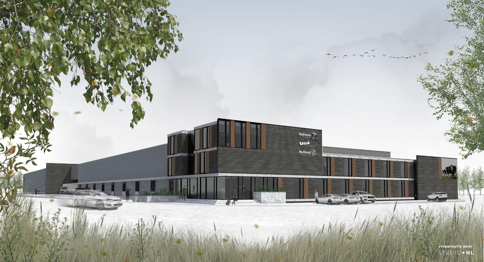 Hofman Animal Care Center betrok de nieuwbouw in februari.