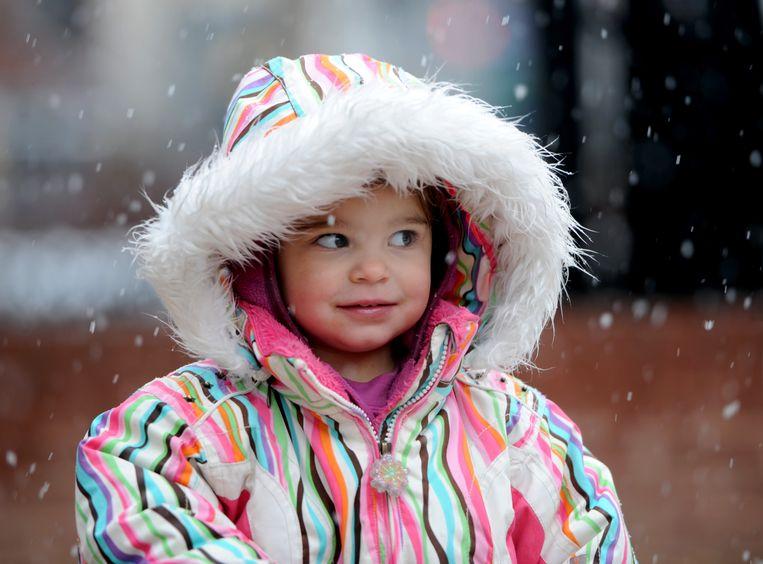 Het verhaal van de Amerikaanse Mila Makovec, hier 2 jaar oud, ging vier maanden geleden de wereld over: voor het eerst was het gelukt om een genetisch medicijn te maken voor één patiënt. Beeld MediaNews Group via Getty Images