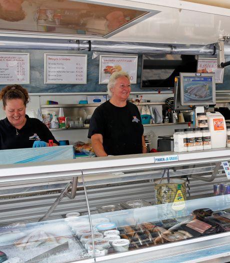 'Laat viskraam in donkere maanden op winkelplein'