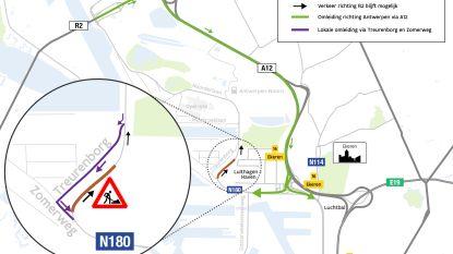 Vanaf 16 september opnieuw werken op Noorderlaan in Antwerpen