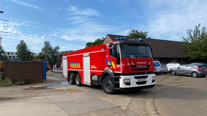 Brandje op recyclagebedrijf snel onder controle