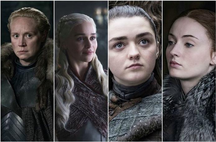 De sterke vrouwen in de Game of Thrones-serie.