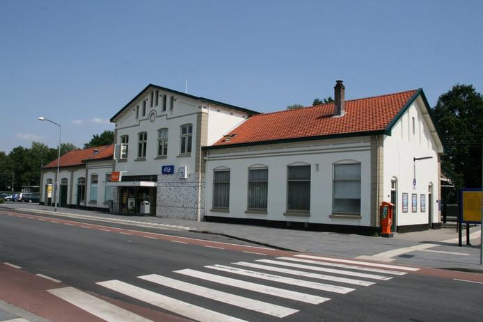 Het station van Nijkerk