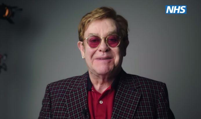 Elton John helpt de NHS.