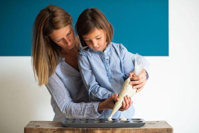 Uitgeverij Averbode lanceert het eerste kookboek in ons land voor kleuters waarin ze ook wiskunde op hun bord krijgen.