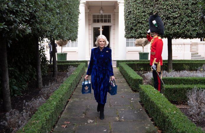 Camilla bij Clarence House