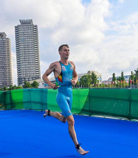 """Marten Van Riel au pied du podium du triathlon: """"La quatrième place fait mal"""""""