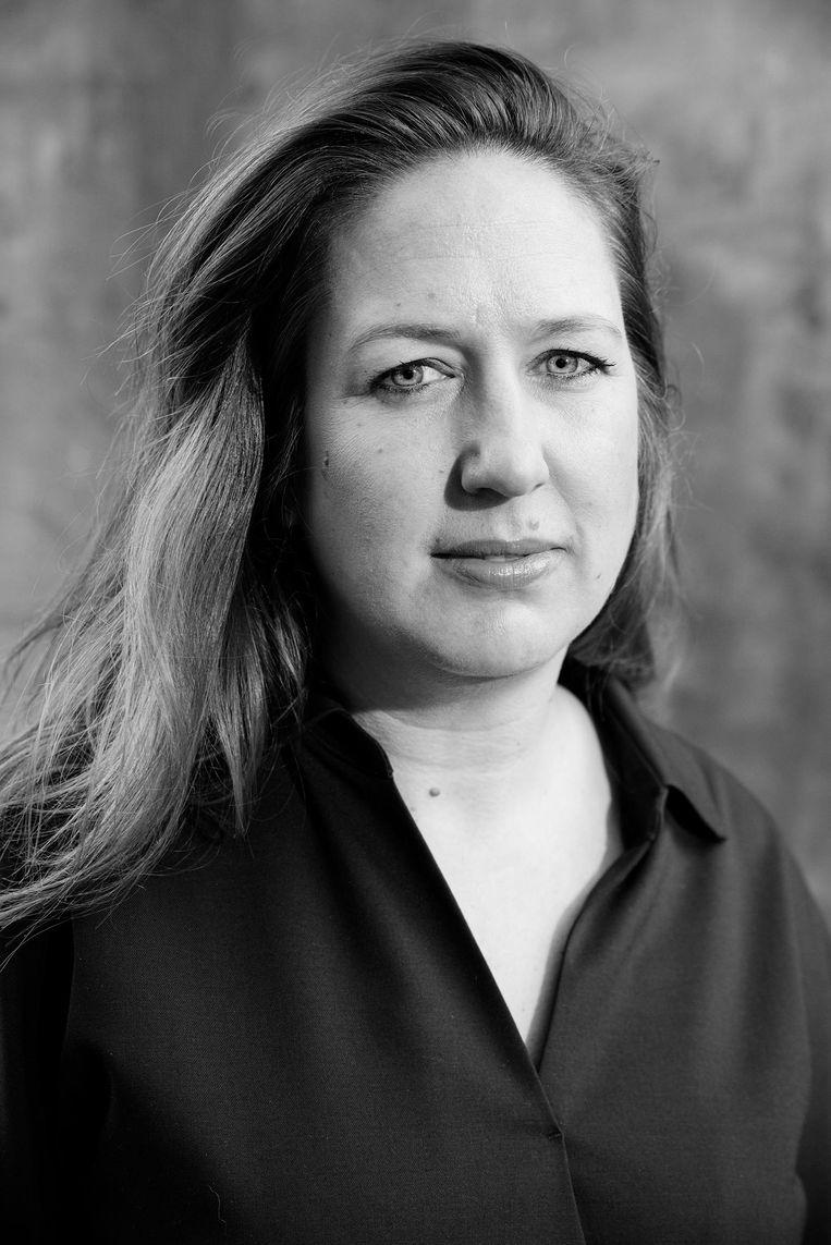 Marjolein Moorman, fractievoorzitter, lijsttrekker van PvdA Amsterdam Beeld Charlotte Odijk