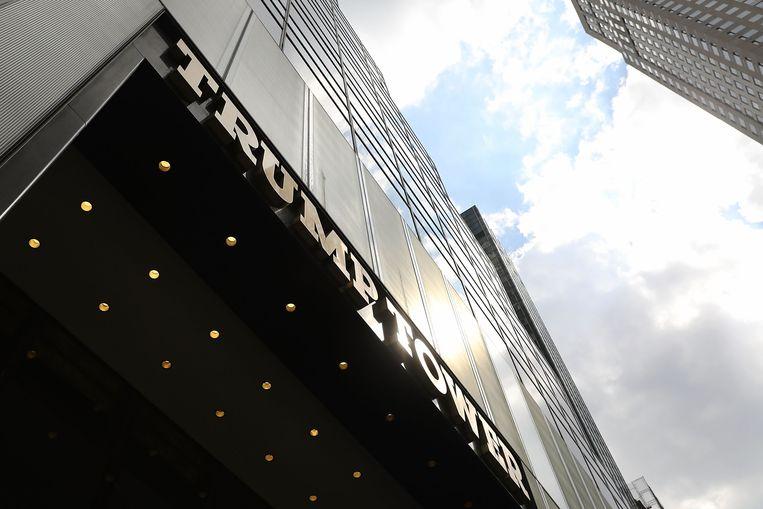 De Trump Tower.  Beeld AFP
