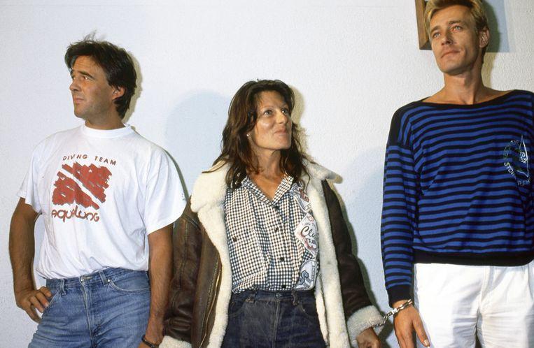 Alex Zeyen, Denise Tyack en Patrick Haemers. Beeld PHOTO_NEWS