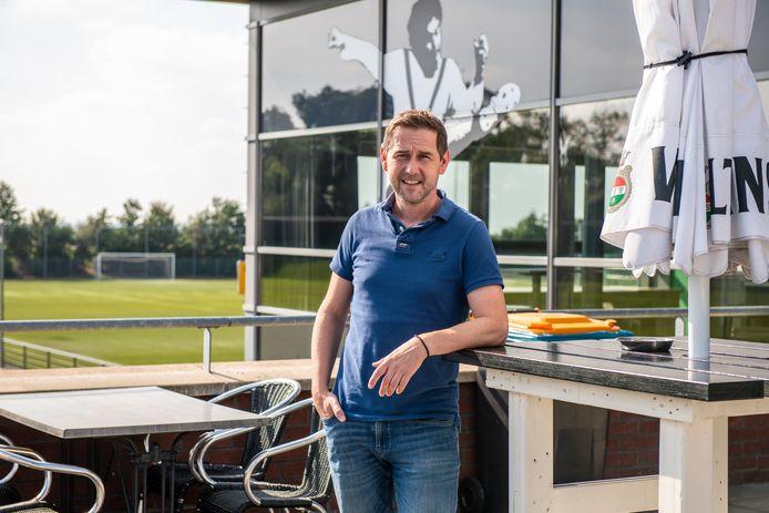 Cees van Hoven, secretaris van voetbalclub Be Fair uit Waddinxveen.