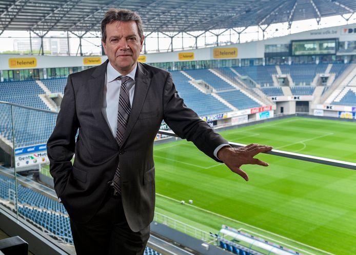 Gent-manager Michel Louwagie in de Ghelamco Arena.