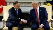 Trump zegt dat Polen basis zal bouwen voor 1.000 Amerikaanse soldaten