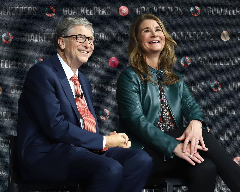 Bill en Melinda Gates in betere tijden. Beeld Photo News