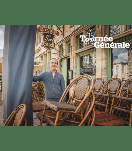 """Ook oudste café van Gent heropent coronaproof: """"Vanaf morgen moeten onze klanten met de smartphone bestellen"""""""