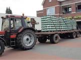 Stuntverkoop blijkt succes: vriendengroep haalt 490 kratten bier op met tractor