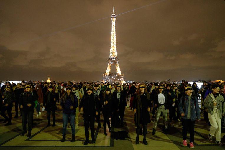 Ook in Parijs werd het lied al gezongen.