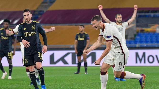 Roma plaatst zich ten koste van moedig Ajax voor halve finales Europa League