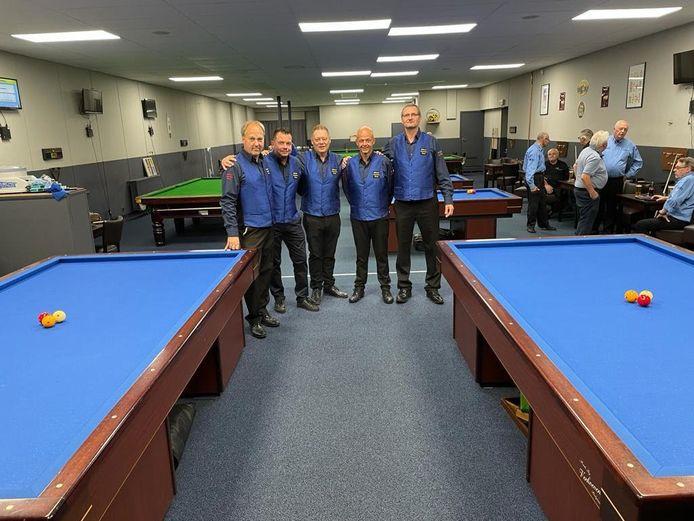 Het Billiard Promotion Team in Schil Dorp