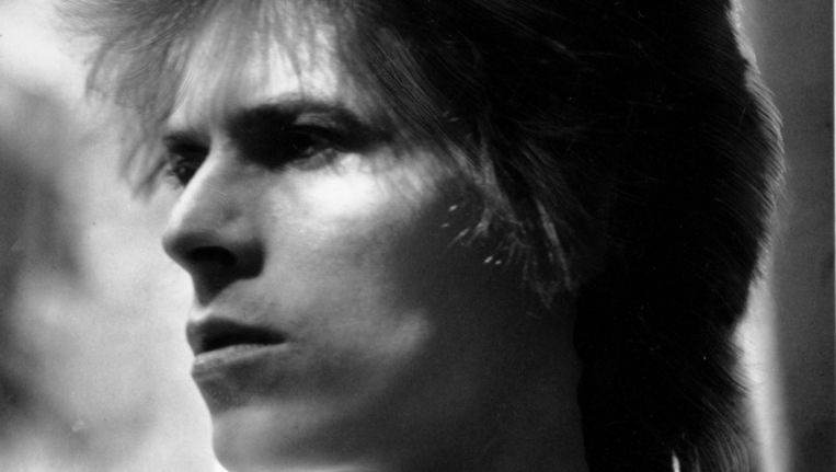 David Bowie in 1972 Beeld null