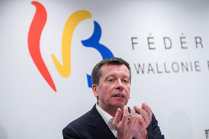 Frédéric Daerden, ministre du Budget de la FWB.