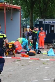 HVCH: grote zorgen om zwaargewonde vrijwilliger Paul Verstegen na val van noodkantine