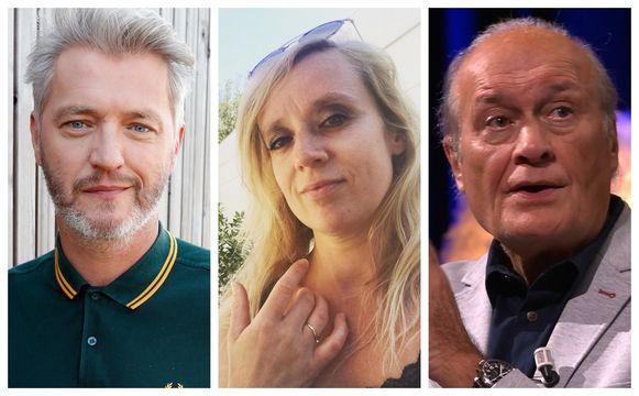 Kürt Rogiers, Vanya Wellens en Jacques Vermeire
