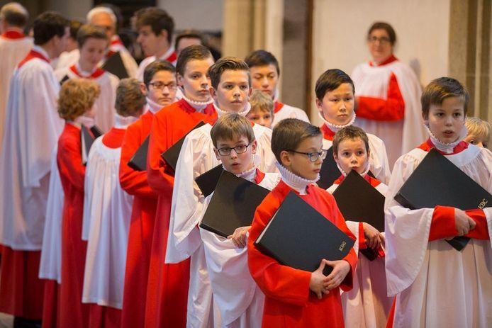 Choral Evensong in Doesburg, enkele jaren geleden.