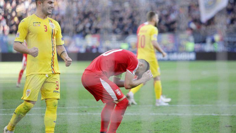 Tadic miste een strafschop tegen Roemenië. Beeld Pro Shots