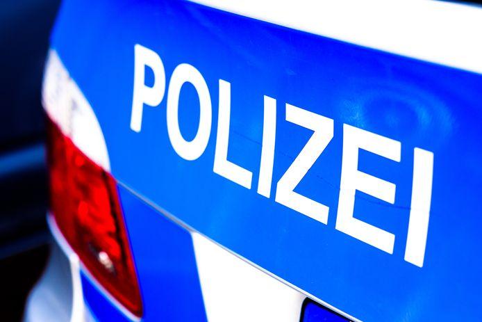 polizei stock germany duitsland auto