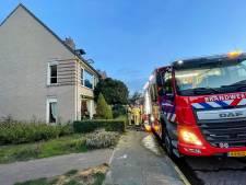 Woningbrand in Lieshout: brandweer zet meerdere blusvoertuigen in