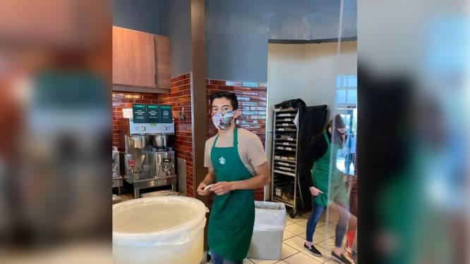 Klant zonder mondmasker schoffeert barista en spant maanden later proces aan tegen man die online gigantische fooi inzamelde