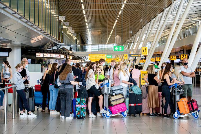 Het aantal passagiers in vliegtuigen stijgt weer.