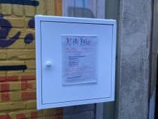 Weggeefwinkel Utrecht start proef met 'Klinikastje' vol  gratis tampons, mondkapjes en condooms
