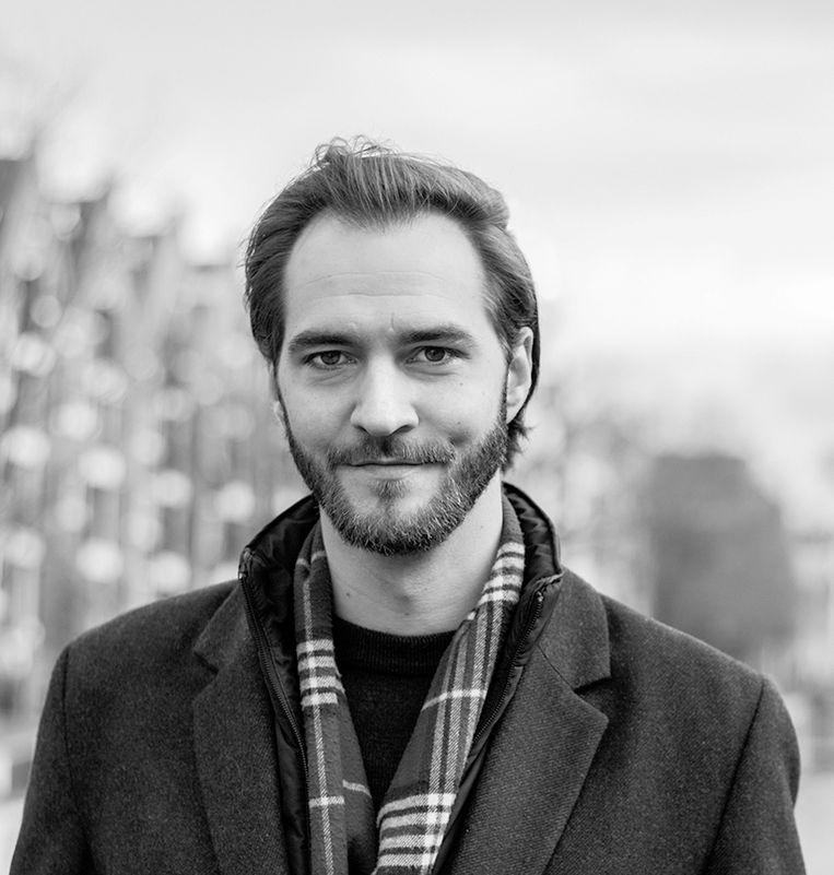Barend Lahm (31) - Werkt bij fraudeopsporing van ABN Amro - Amsterdam-West. Beeld Rosemary Dekker