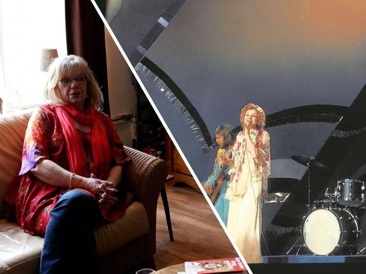 Op bezoek bij Getty Kaspers, de Twentse winnares van het Songfestival