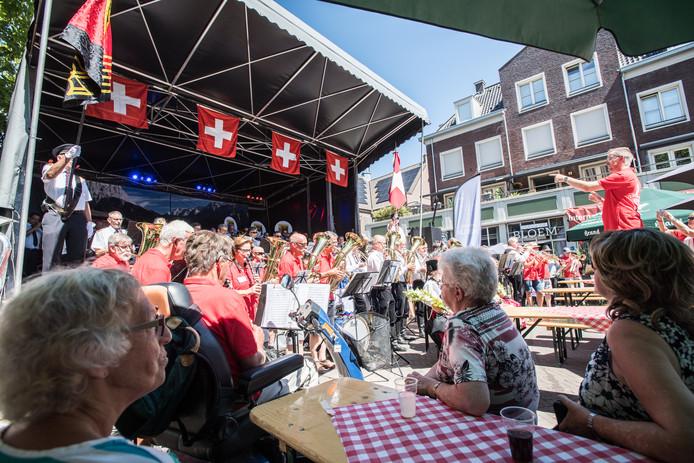 Een impressie van het Kapellen Festival vorig jaar in Bemmel. Foto: Rolf Hensel.