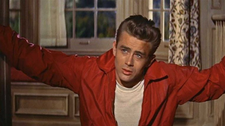James Dean in 'Rebel without a Cause'. Beeld