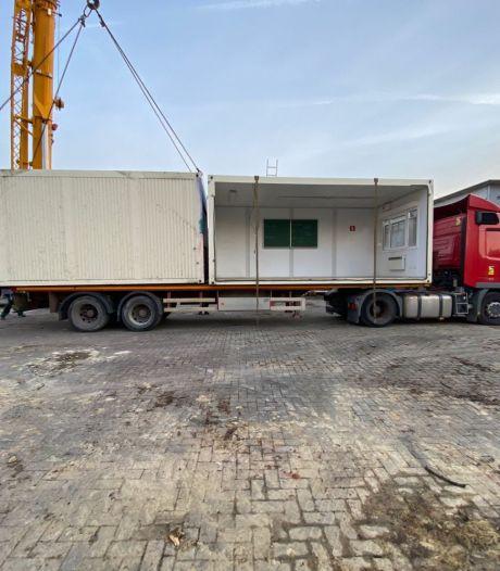 Anderlecht donne une seconde vie à 21 classes containers et les envoie à Trooz