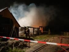 Schuur in buitengebied Terwolde gaat in vlammen op