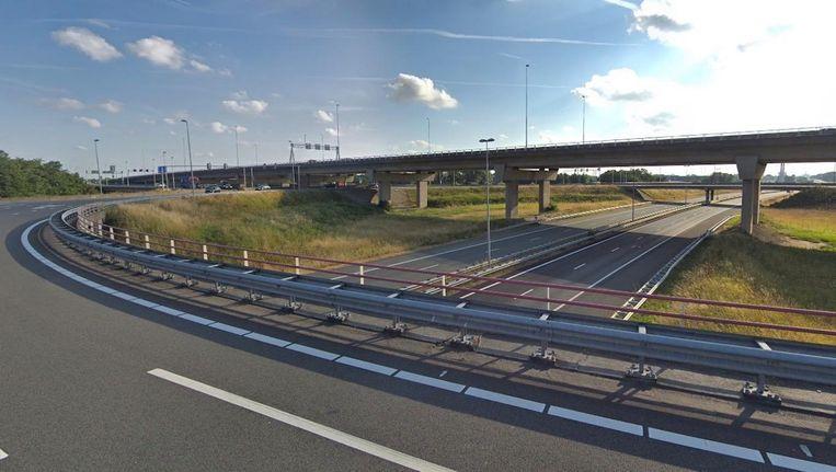 Knooppunt Rottepolderplein Beeld Google Streetview