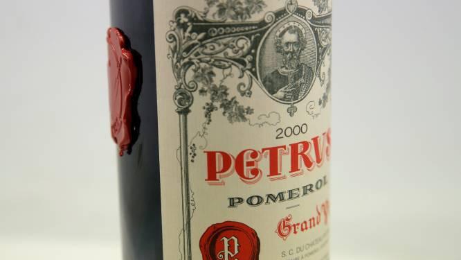 Fles Franse wijn gerijpt in de ruimte te koop: geschatte prijs van 1 miljoen dollar